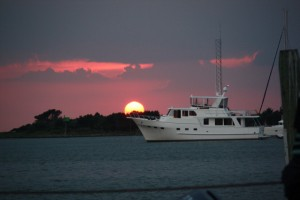 Ocracoke Sunset 2010 by Andy Loudermilk